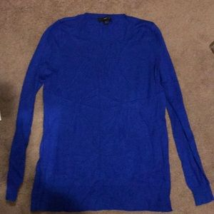 Mossimo XL royal blue sweater